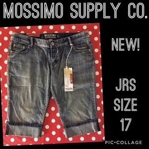🆕 MOSSIMO crop DENIM